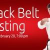 Black Belt Testing – February 2015
