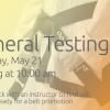 May Testing