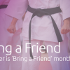 October is 'Bring a Friend' Month