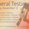 November 2016 Testing