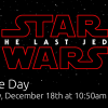 Star Wars Movie Day