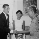 1968 Surabays. Grandmaster Kim on the left.