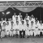 1969 Brunei. Grandmaster Kim first row, and sixth from the left.aster Kim