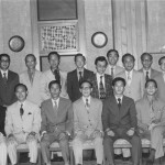 1973 in Hong Kong. Grandmaster Kim front row, third from the left.