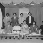 1973 with the Governor of Hong Kong. Grandmaster Kim front row, second from the left.