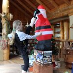 Sparring with Santa