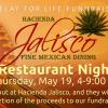Restaurant Night in May