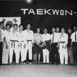 1968 Indonesia. Grandmaster Kim 7th from the left.
