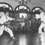 1970 in the Philippines. Grandmaster Kim on the  right.